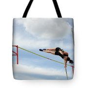 Womens Pole Vault Tote Bag