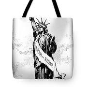 Womens Rights Cartoon, 1915 Tote Bag