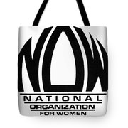 Womens Rights: Now Logo Tote Bag