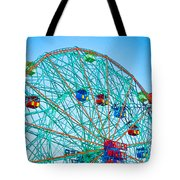 Wonder Wheel Amusement Park 1 Tote Bag