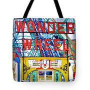 Wonder Wheel Amusement Park 10 Tote Bag