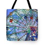 Wonder Wheel Amusement Park 3 Tote Bag