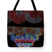 Wonderful And Spectacular Christmas Lighting Decoration In Madrid, Spain Tote Bag