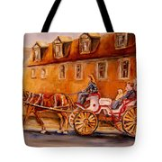 Wonderful Carriage Ride Tote Bag