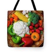 Wonderful Fresh Vegetables Tote Bag