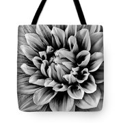Wonderful Graphic Dahlia Tote Bag