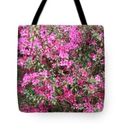 Wonderful Pink Azaleas Tote Bag