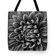 Wonderful Tones Dramantic Dahlia Tote Bag