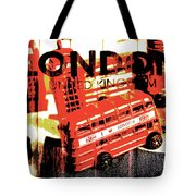 Wonders Of London Tote Bag