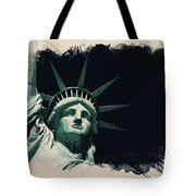 Wonders Of The Worlds - Lady Liberty Of New York 2 Tote Bag