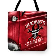 Wong's Garage Tote Bag