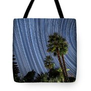 Wonky Star Trails Tote Bag