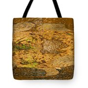 Wood Abstracted Tote Bag