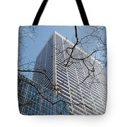 Wood And Glass Tote Bag
