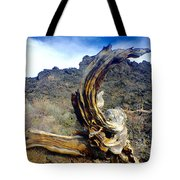 Wood And Lava Tote Bag