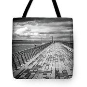 Wood And Pier Tote Bag