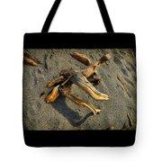 Wood And Sand Tote Bag