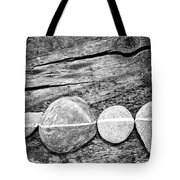 Wood And Stones - Vertical Tote Bag