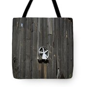 Wood And Wheel Tote Bag