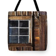 Wood And Window Tote Bag