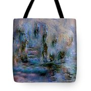 Wood Art  Lost In Time Tote Bag