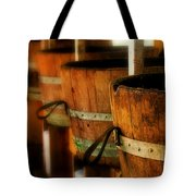 Wood Barrels Tote Bag