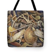 Wood Creatures Tote Bag