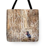 Wood Duck Drake 2 Tote Bag