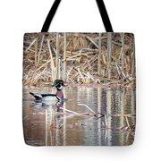 Wood Duck Drake 2018 Square Tote Bag