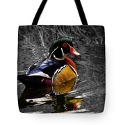 Wood Duck Drake Tote Bag