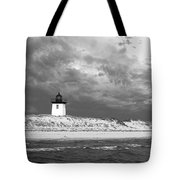 Wood End Lighthouse Provincetown Tote Bag