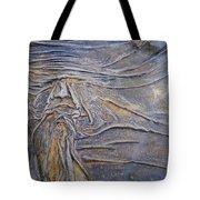 Wood Face  Tote Bag