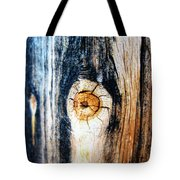 Wood In Macro #1 Tote Bag