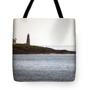 Wood Island Lighthouse 2 Tote Bag