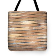 Wood Lines Tote Bag