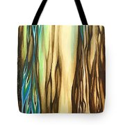 Wood On The Inside Tote Bag