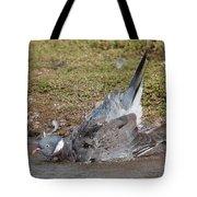 Wood Pigeon Washing Tote Bag