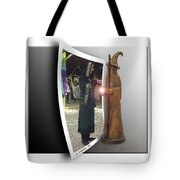 Wood Spell Tote Bag