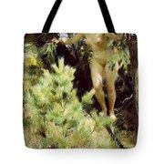 Wood-sprite Anders Zorn Tote Bag