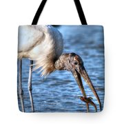 Wood Storks Breakfast Lunch And Dinner Tote Bag