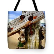 Wood Structure Tote Bag