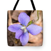 Wood Violet - Full View Tote Bag