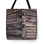 Wood Walls Tote Bag