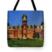 Woodburn Hall In Morning Tote Bag