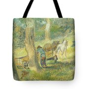 Woodcutters Tote Bag