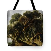 Wooded Landscape Tote Bag
