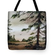 Wooded Shore Tote Bag
