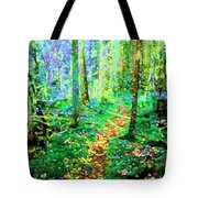 Wooded Trail Tote Bag
