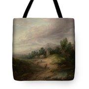Wooded Upland Landscapewooded Upland Landscape By Thomas Gainsborough, Circa 1783 Tote Bag