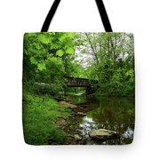Wooded Valley Of The Patapsco River North Branch Maryland Tote Bag